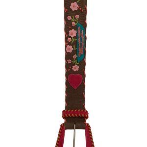 Betsey Johnson Embroidered Belt